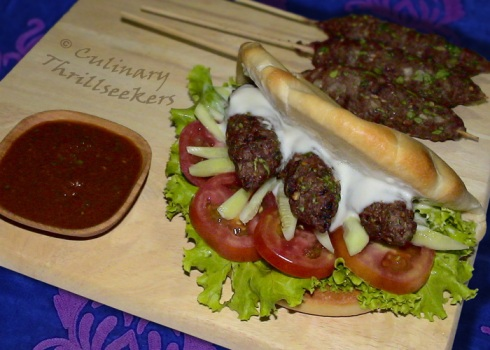 Kafta (Arabian BBQ Meatballs) | Culinary Thrillseekers